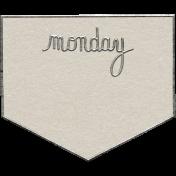 Toolbox Calendar- Monday Metal Doodle