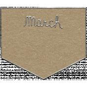 Toolbox Calendar- March Metal Doodle 2
