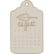 Toolbox Calendar- August Doodle Date Tag