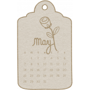 Toolbox Calendar- May Doodle Date Tag