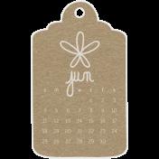 Toolbox Calendar- June Doodle Date Tag 2