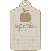 Toolbox Calendar- September Doodle Date Tag