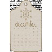 Toolbox Calendar- December Doodle Date Tag