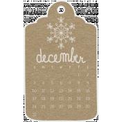 Toolbox Calendar- December Doodle Date Tag 2