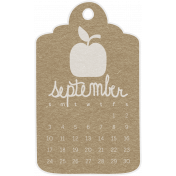 Toolbox Calendar- September Doodle Date Tag 2