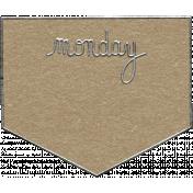 Toolbox Calendar- Monday Metal Doodle 2