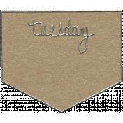 Toolbox Calendar- Tuesday Metal Doodle 2