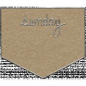 Toolbox Calendar- Sunday Metal Doodle 2