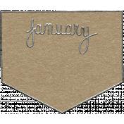 Toolbox Calendar- January Metal Doodle 2