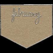 Toolbox Calendar- February Metal Doodle 2