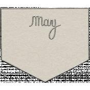 Toolbox Calendar- May Metal Doodle