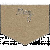 Toolbox Calendar- May Metal Doodle 2