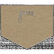 Toolbox Calendar- June Metal Doodle 2