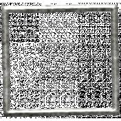 Toolbox Calendar- Metal Square Frame Doodle