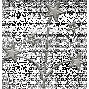 Toolbox Calendar- Metal Fireworks Doodle