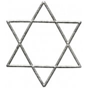 Toolbox Calendar- Metal Star Of David Doodle