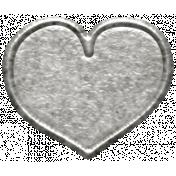 Toolbox Calendar- Metal Heart Doodle