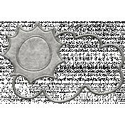 Toolbox Calendar- Metal Sun And Cloud Doodle