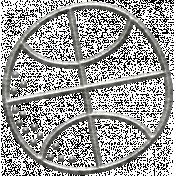 Toolbox Calendar Basketball Doodle