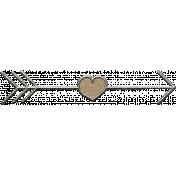 Toolbox Calendar- Metal Arrow Doodle 11