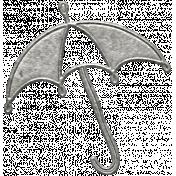 Toolbox Calendar- Metal Umbrella Doodle