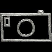 Toolbox Calendar- Metal Camera Doodle