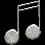 Toolbox Calendar- Metal Music Notes Doodle 2