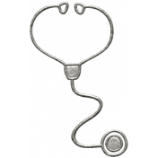 Toolbox Calendar- Metal Stethoscope Doodle