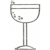 Toolbox Calendar- Metal Drink Doodle