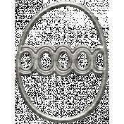 Toolbox Calendar- Metal Egg Doodle