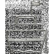 Toolbox Calendar- Metal Ship Doodle