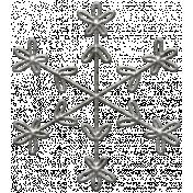 Toolbox Calendar- Metal Snowflake Doodle