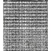 Toolbox Calendar- Metal Month Doodle Frame- August