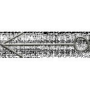 Toolbox Calendar- Metal Arrow Doodle 23