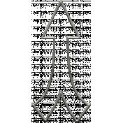 Toolbox Calendar- Metal Arrow Doodle 24