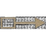 Toolbox Calendar- Metal Arrow Doodle 25