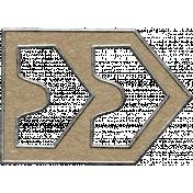 Toolbox Calendar- Metal Arrow Doodle 29