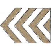 Toolbox Calendar- Metal Arrow Doodle 30