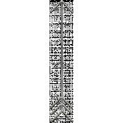Toolbox Calendar- Metal Arrow Doodle 37