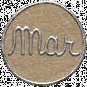 Toolbox Calendar 2- March Metal Doodle Circle 2