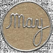Toolbox Calendar 2- May Metal Doodle Circle 2