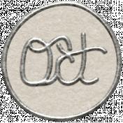 Toolbox Calendar 2- October Metal Doodle Circle