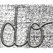 Toolbox Calendar- Metal Word Art- Do