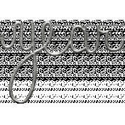 Toolbox Calendar- Metal Word Art- Year