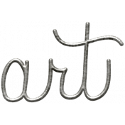 Toolbox Calendar- Metal Word Art- Art