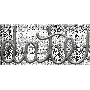 Toolbox Calendar- Metal Word Art- Date 2