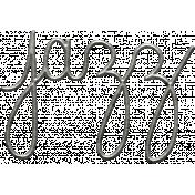 Toolbox Calendar- Metal Word Art- Jazz