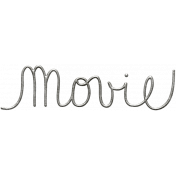 Toolbox Calendar- Metal Word Art- Movie