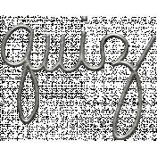 Toolbox Calendar- Metal Word Art- Quizz
