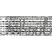 Toolbox Calendar- Metal Word Art- School